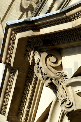 Victorian door surround, Colmore Row - Birmingham, UK